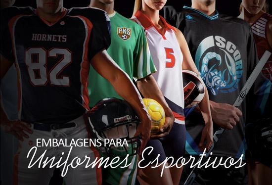 Embalagens para Uniformes Esportivos