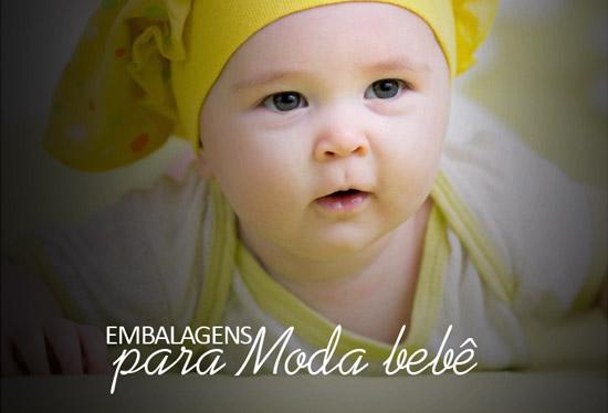 Embalagens para Moda de Bebê